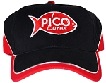 Black Red Pico Hat