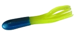 CRAPPIE TUBES  1.5 INCH   HT-18   BLUE-CHARTREUSE   10-PACK